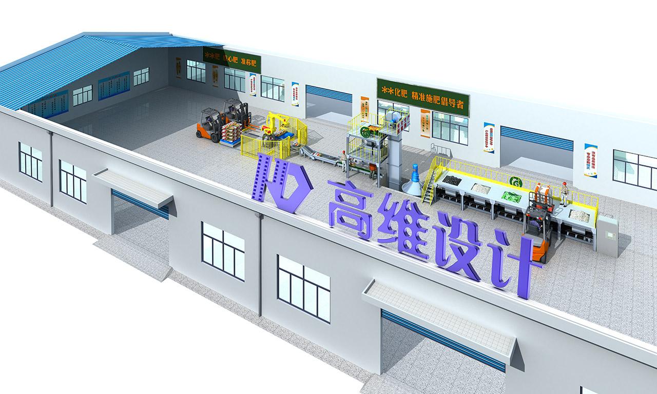 钢结构厂房加工生产线布置图